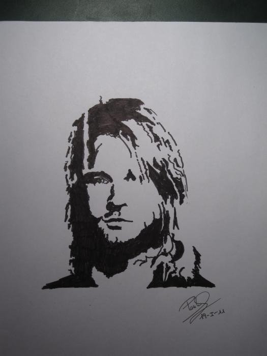Kurt Cobain par Paula94kurt